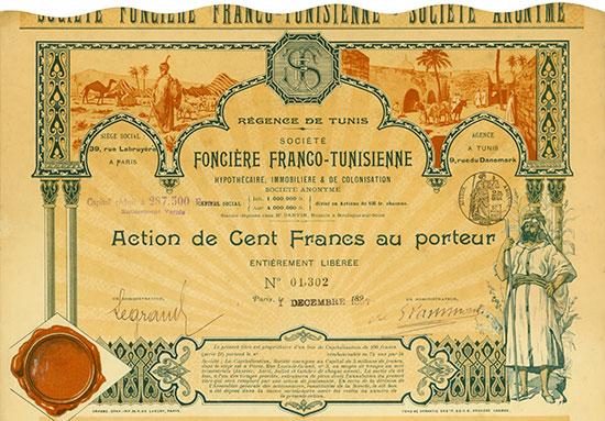 Société Franco-Tunisienne Hypothécaire, Immobilière & de Colonisation Société Anonyme
