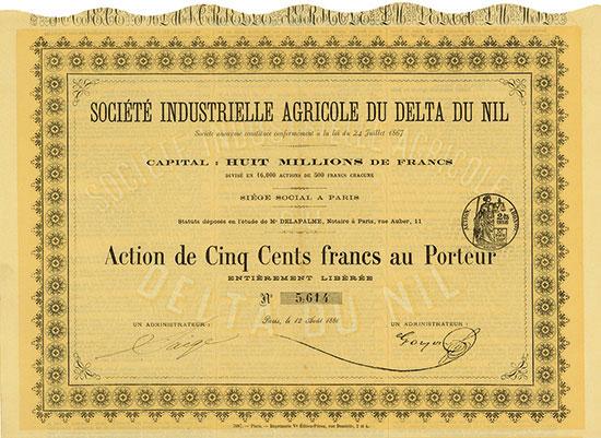 Société Industrielle Agricole du Delta du Nil