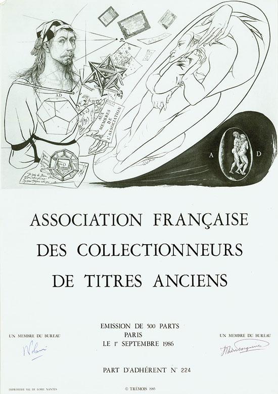 Association des Collectionneurs de Titres Anciens