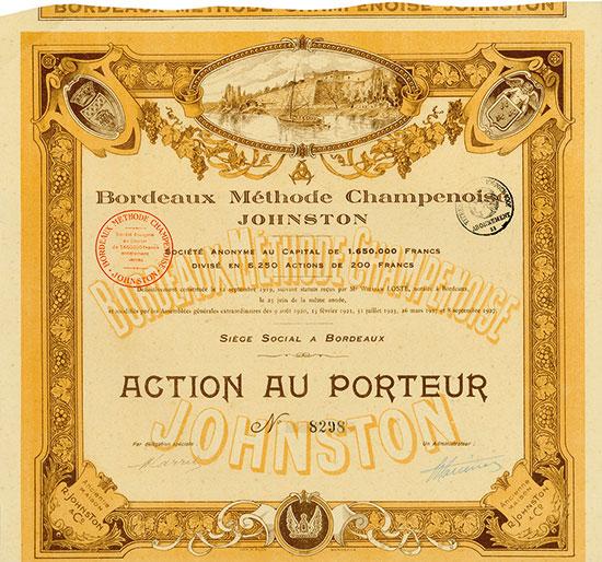 Bordeaux Méthode Champenoise Johnston