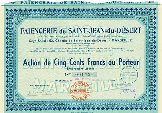 Faiencerie de Saint-Jean-du-Désert