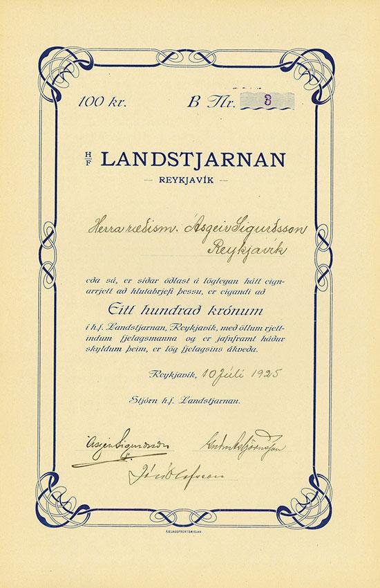 H/F Landstjarnan
