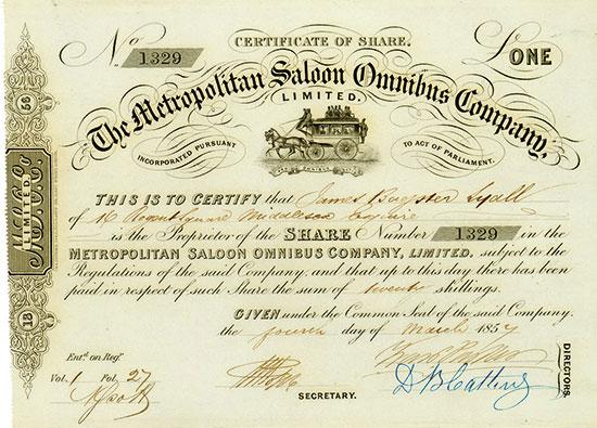 Metropolitan Saloon Omnibus Company Limited