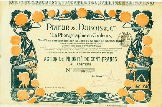 Prieur & Dubois & Cie.