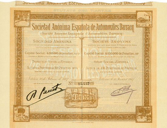 Sociedad Anónima Espanola de Automoviles Darracq