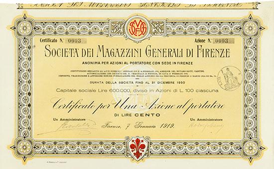 Società dei Magazzini Generali di Firenze