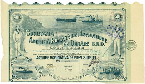 Societatea Anonimá Románá de Navigatiune pe Dunáre