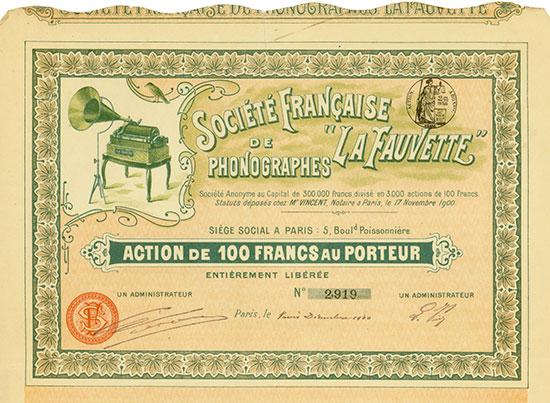 Société Francaise de Phonographes