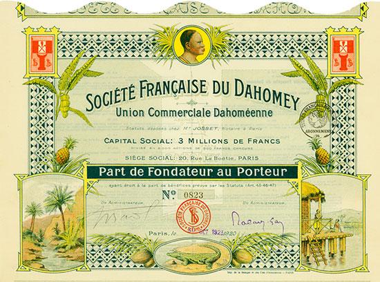 Société Française du Dahomey