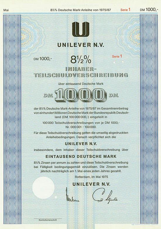 Unilever N. V.