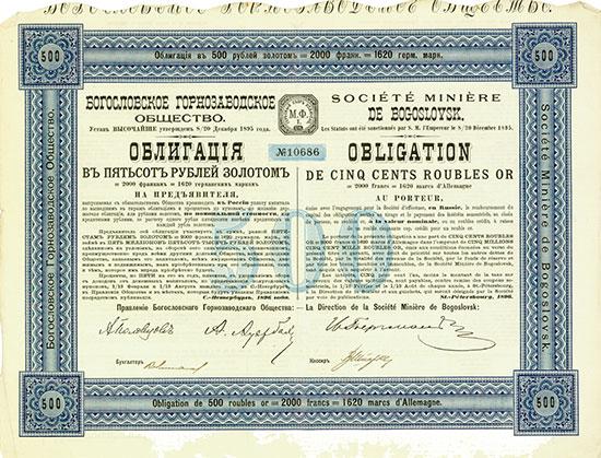 Société Minière de Bogoslovsk