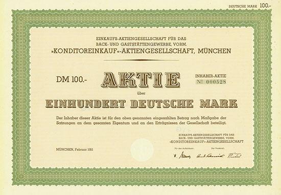 Einkaufs-Aktiengesellschaft für das Back- und Gaststättengewerbe, vorm.