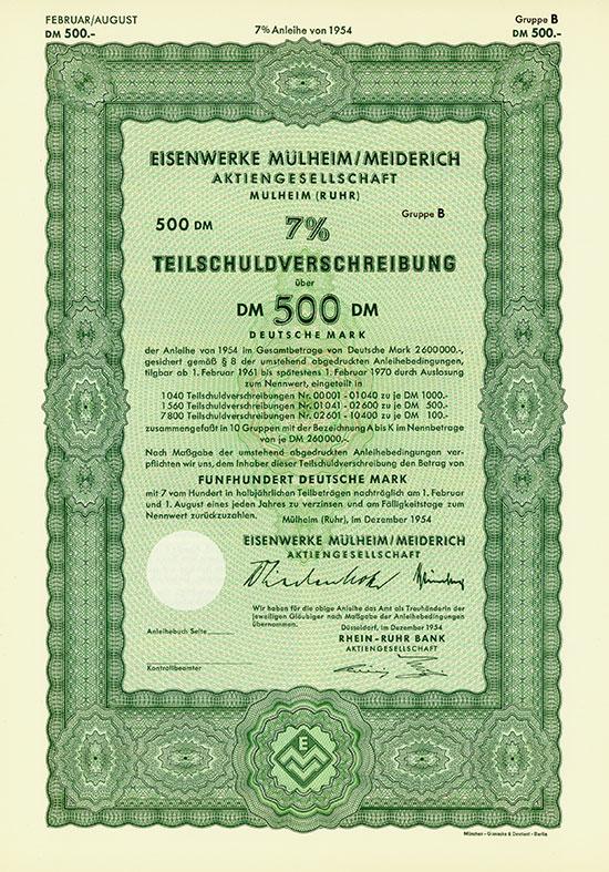 Eisenwerke Mülheim/Meiderich AG