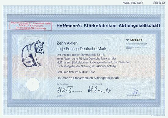 Hofmann's Stärkefabriken AG