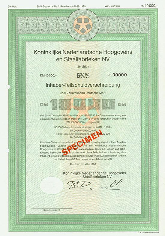 Koninklijke Nederlandsche Hoogovens en Staalfabrieken NV