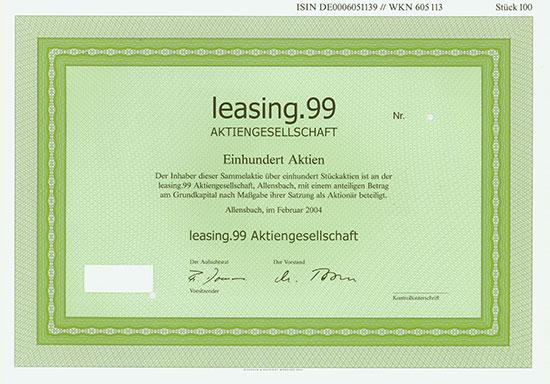 leasing.99 AG