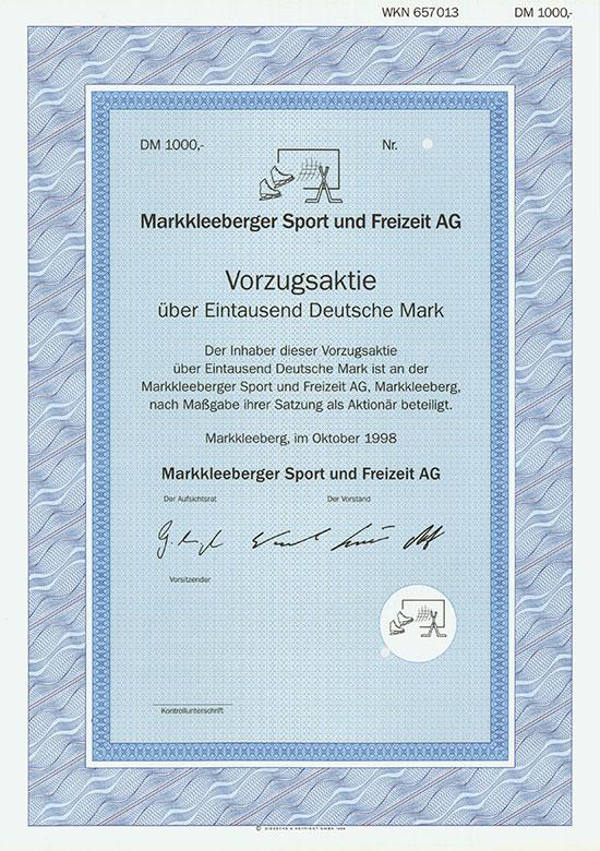 Markkleeberger Sport und Freizeit AG