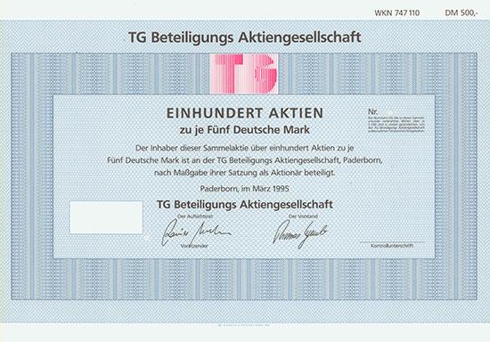 TG Beteiligungs AG