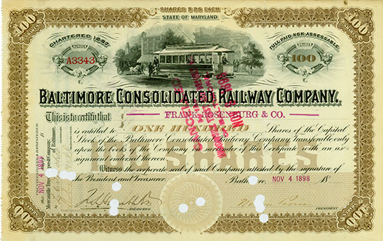 Baltimore Consolidated Railway Company