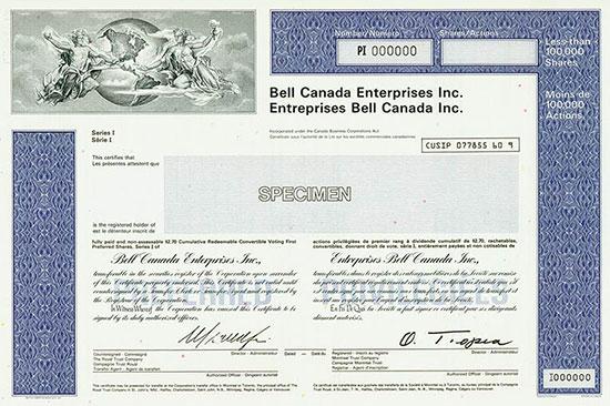 Bell Canada Enterprises Inc. / Entreprises Bell Canada Inc.