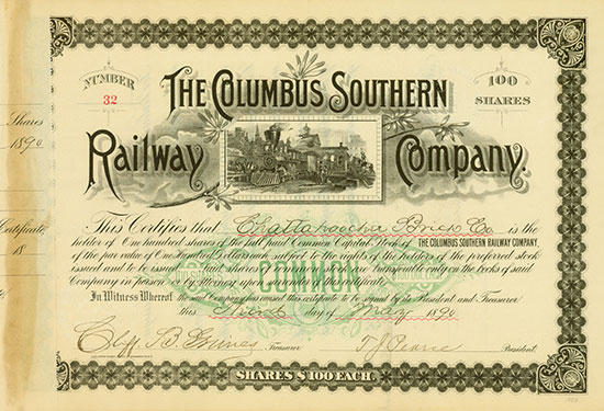 Columbus Southern Railway Company