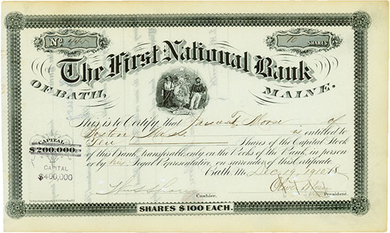 First National Bank of Bath
