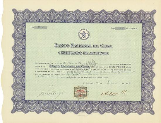 Banco Nacional de Cuba [5 Stück]