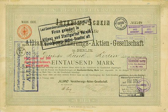Versicherungen Deutschland [24 Stück]