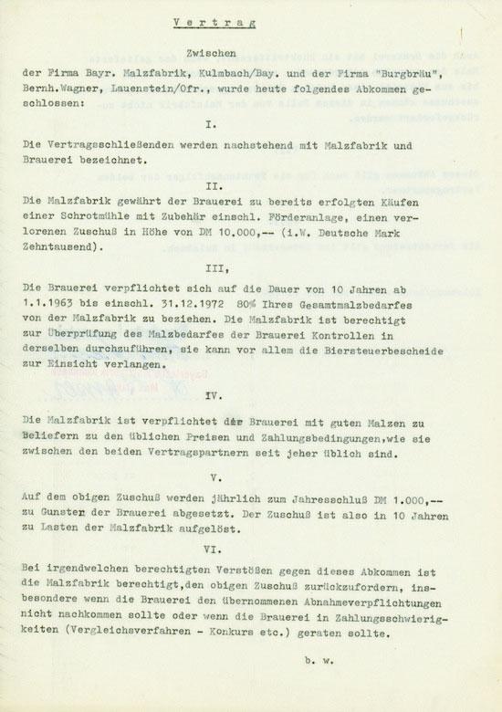 Bayerische Malzfabrik Kulmbach Max Ganser