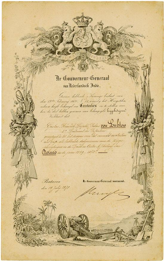 De Gouverneur-Generaal van Nederlandsch Indie