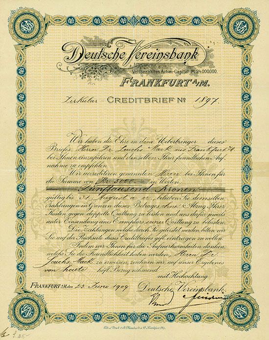 Deutsche Vereinsbank