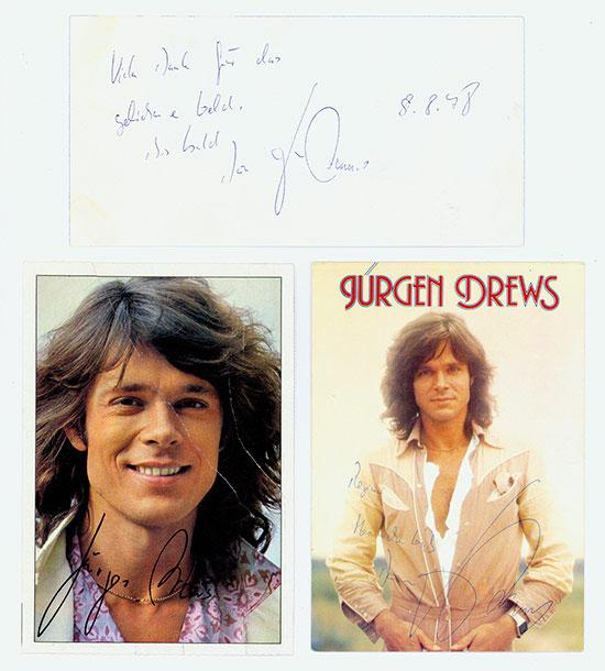 Jürgen Drews [3 Stück]