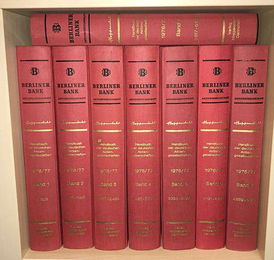 Handbuch der deutschen Aktiengesellschaften 1976/77