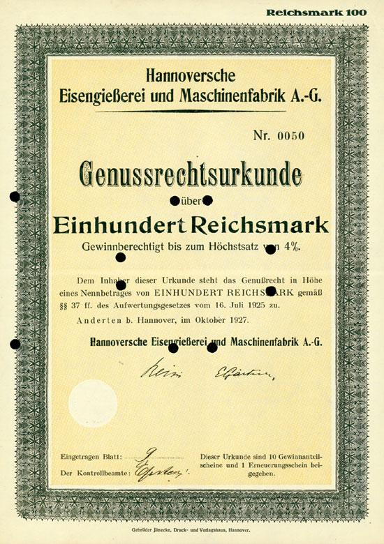 Hannoversche Eisengießerei und Maschinenfabrik AG