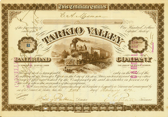 Tarkio Valley Railroad Company