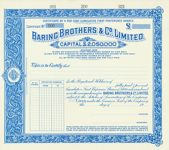 Baring Brothers & Co., Limited