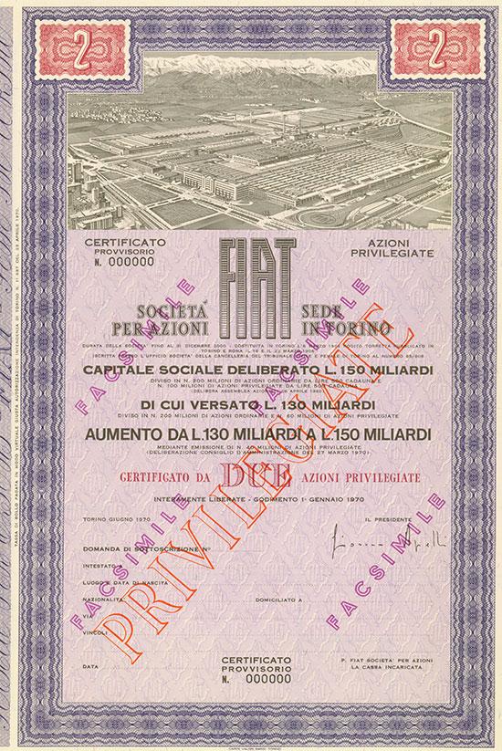 Fiat Società per Azioni