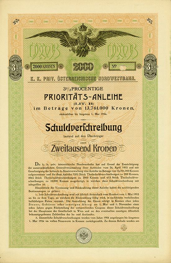 K. k. priv. österreichische Nordwestbahn