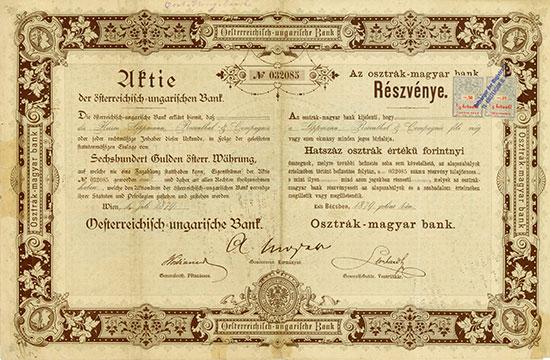 Oesterreichisch-ungarische Bank
