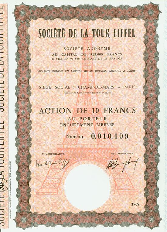 Société de la Tour Eiffel Société Anonyme