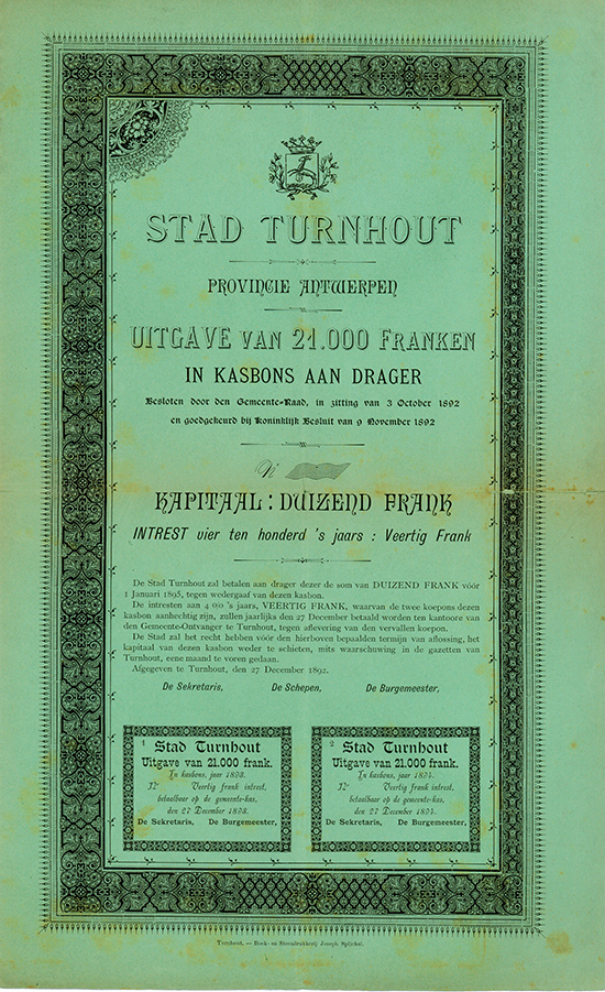 Stad Turnhout Provincie Antwerpen