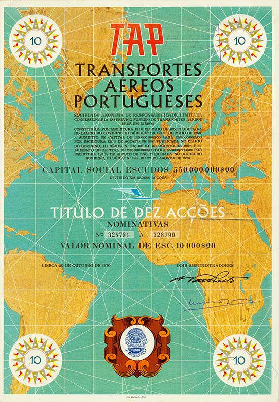 TAP Transportes Aéreos Portugueses