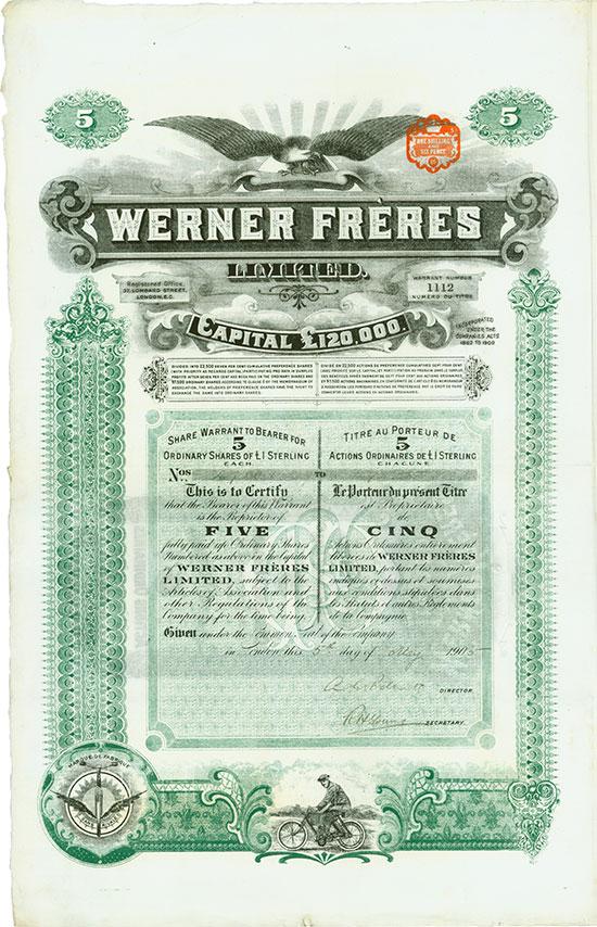 Werner Fréres Limited
