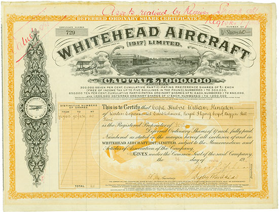 Whitehead Aircraft (1917) Limited