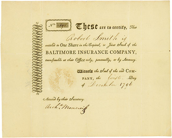 Baltimore Insurance Company