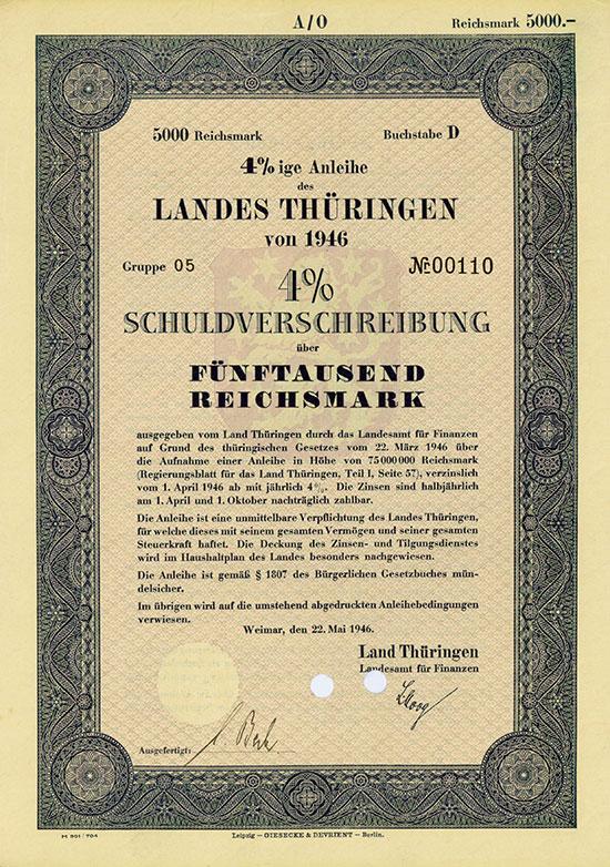 Sowjetische Besatzungszone (SBZ) / Deutsche Demokratische Republik (DDR) [10 Stück]