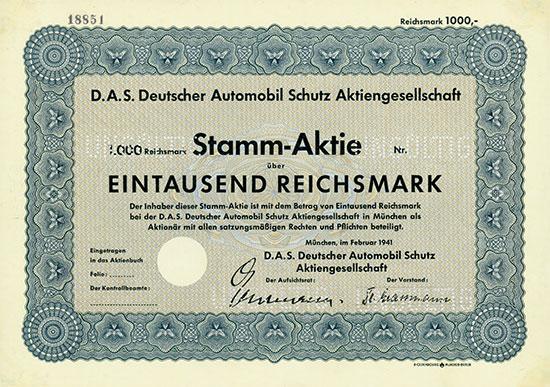 D.A.S. Deutscher Automobil Schutz AG