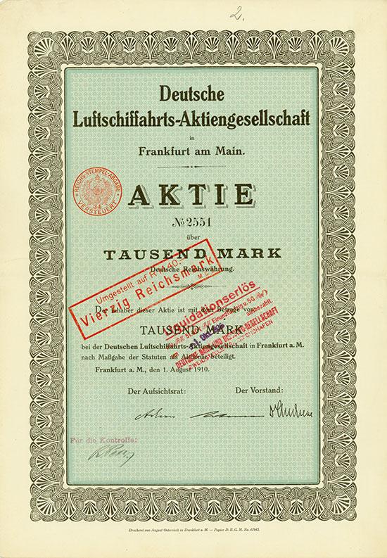 Deutsche Luftschiffahrts-AG [MULTIAUKTION 5]
