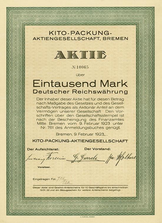 Kito-Packung-AG [MULTIAUKTION 2]