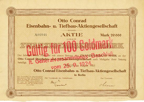 Otto Conrad Eisenbahn- u. Tiefbau-AG